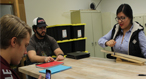 Tech Physics Class Puts Learning in Motion