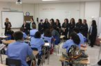 Medical Assistant and Cosmo Students Team Up at Tech