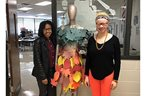 Fashion Design and Merchandising students get into the fall spirit
